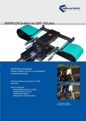 RAPPLON svářecí lis QSP 105 plus