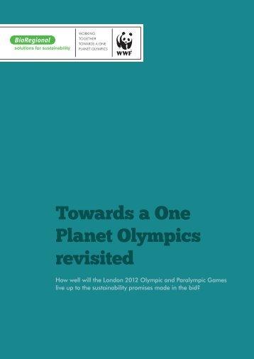 Towards a One Planet Olympics revisited - naturschutz.ch, Natur