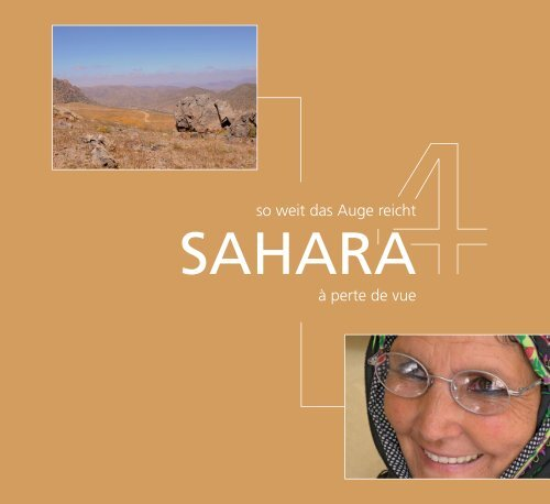 Sahara so weit das Auge reicht