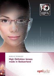High Definition lenses made in Switzerland - Optiswiss AG