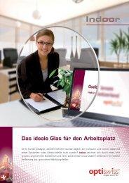 Das ideale Glas für den Arbeitsplatz - Optiswiss AG