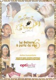 Le Sahara à perte de vue
