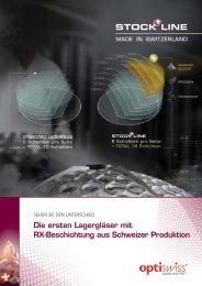 STOCK LINE - Optiswiss AG