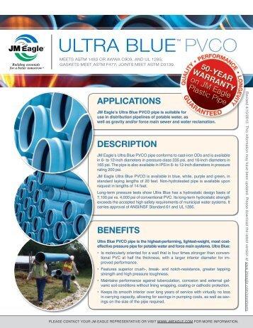 ULTRA BLUE™ PVCO - JM Eagle