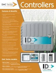 Irrigation Direct DMC Controllers Specsheet