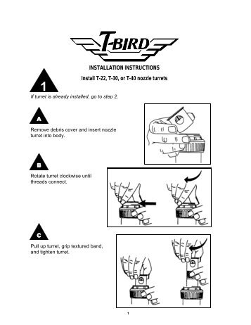 Rain Bird Maxi-Paw Rotor Sprinkler Owner's Manual