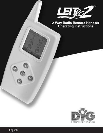 Irritrol Pc controller manual