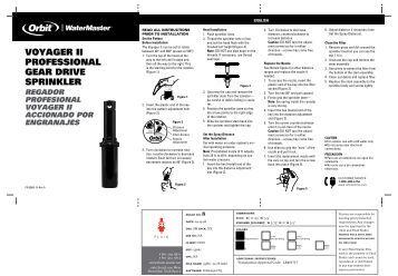 Orbit WaterMaster 55661 Voyager II Professional ... - Irrigation Direct