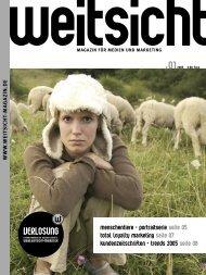 Weitsicht Magazin #01 - Heidi Buck