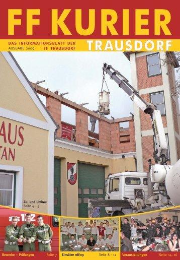 FF Kurier 2009:Top Prisma journal 2 - bei der FF Trausdorf