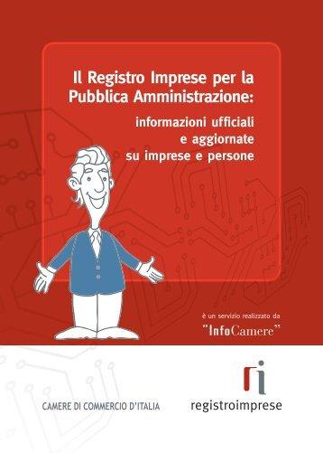 brochure dei servizi - registro delle imprese - fareonline.it
