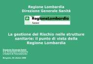 Il Risk Management in Regione Lombardia ... - fareonline.it