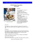 SCDA Spring Newsletter 09 - Colorado Dietetic Association - Page 4