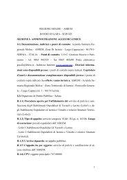 1 REGIONE MOLISE – ASREM BANDO DI GARA ... - fareonline.it