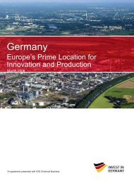 Germany Europe's Prime Location for Innovation and  Production