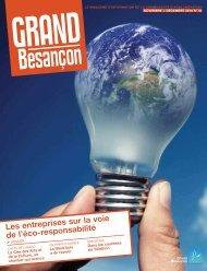 Les entreprises sur la voie de l'éco-responsabilité (Pdf - 2 - Besançon