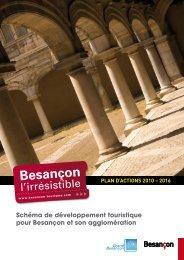 schéma de développement touristique (Pdf - 2,24 Mo) - Besançon