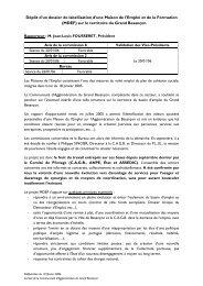 Délibération - Grand Besançon