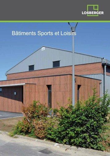 Bâtiments Sports et Loisirs - Losberger