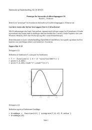 Prototype for besvarelse af hjemmeopgave i R