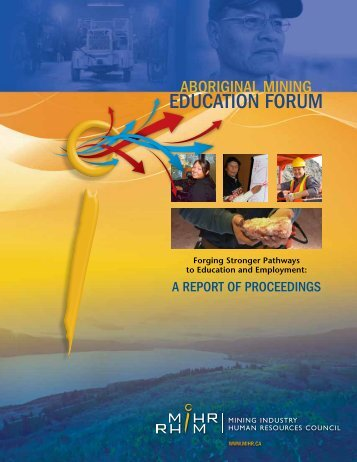 Forging Stronger Pathways to Education and Employment: A ... - MiHR