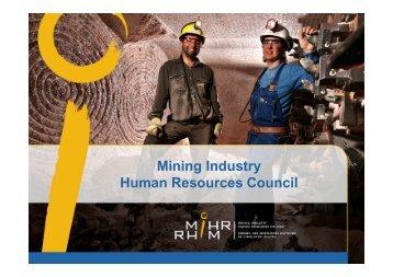 Women in Mining - MiHR