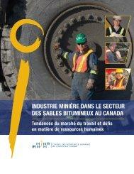 Industrie minière dans le secteur des sables bitumineux au ... - MiHR