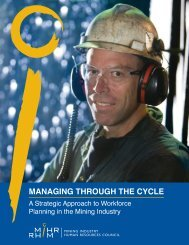 Managing through the Cycle: A Strategic Approach to ... - MiHR