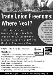 tuc fringe flyer 2008 version 2.pdf - The Institute of Employment Rights