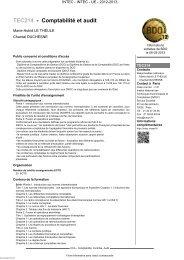 TEC214 - Comptabilité et audit - Cnam