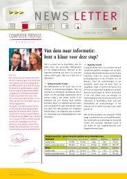 Van data naar informatie: bent u klaar voor deze ... - Computer Profile