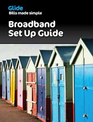 Broadband Set Up Guide - Glide - Uk.com