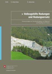 Vollzugshilfe Rodungen und Rodungsersatz - Naturschutz.ch