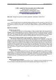 analyse du cycle de vie, textile, production, val - avniR