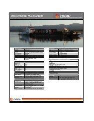 mv marjory - Northern Transportation Company Limited