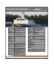 MV JOCK McNIVEN - Northern Transportation Company Limited