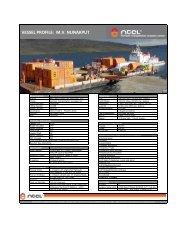 mv nunakput - Northern Transportation Company Limited