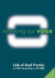 here - Code of Good Practice