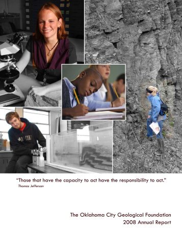 The Oklahoma City Geological Foundation 2008 Annual Report