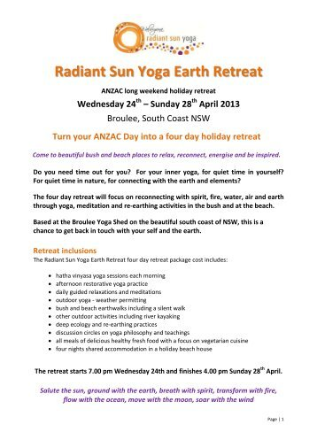 Bhakti Yoga India Retreat Tour Reservation and Release Form Tour ...