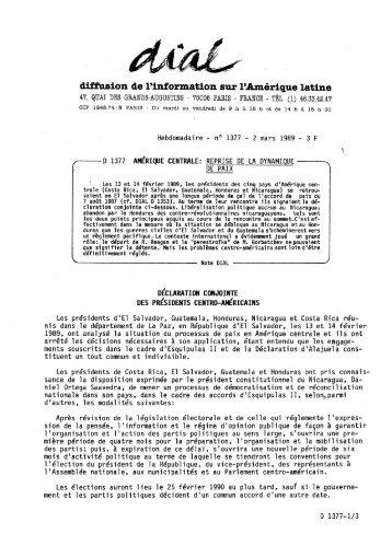 diffusion de l'information sur l'Amérique latine - AlterInfos