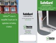 SafeGard™ assure la tranquillité d'esprit pour les ... - Truth Hardware
