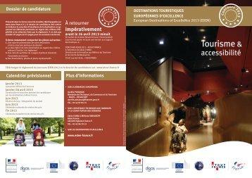 La plaquette de présentation EDEN 2013 - Atout France