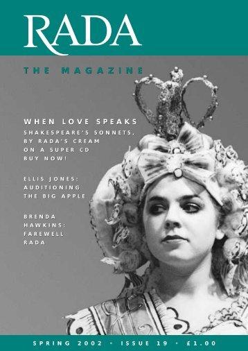 RADA Issue 19 - APRZ88
