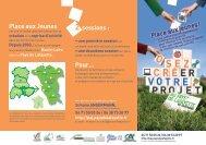 Pour… 2 sessions : Place aux Jeunes - Installation campagne