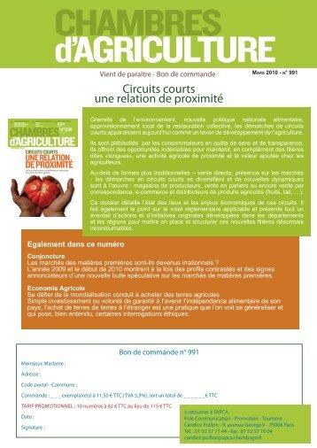 Annuaire circuits alimentaires de proximit chambre d for Chambre d agriculture paris