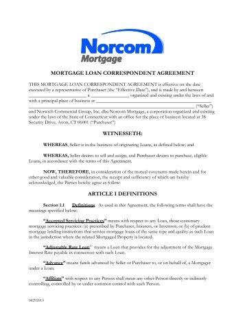 Fee Agreement Prospect Partners