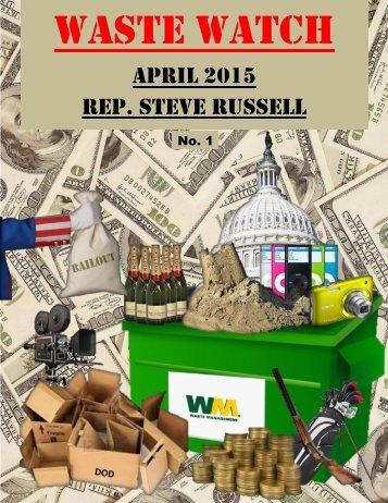 Waste Watch No. 1 April 2015