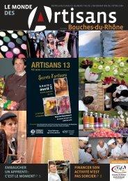 artisans 13 - Chambre de Métiers et de l'Artisanat des Bouches-du ...