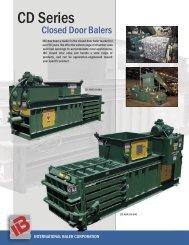 CD Series - International Baler Corporation